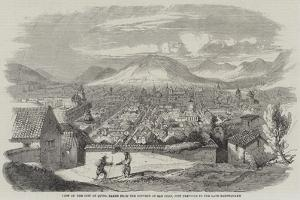 View of the City of Quito, Taken from the Convent of San Juan, Just Previous to the Late Earthquake