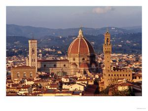 View of the Duomo and Palazzo Vecchio
