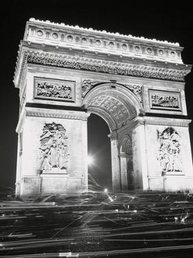 View of the French Arch of Triumph