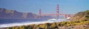 View of the Golden Gate Bridge, San Francisco, California, Usa