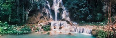 View of the Kuang Si Falls, Luang Prabang, Laos
