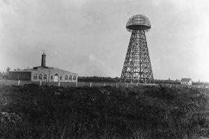 View of the Tesla Wireless Broadcasting Tower