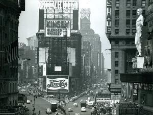 View of Times Square, New York, USA, 1952