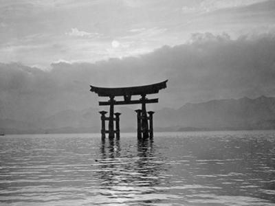 View of Torii in the Sea