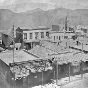 View of Virginia City from the International Hotel