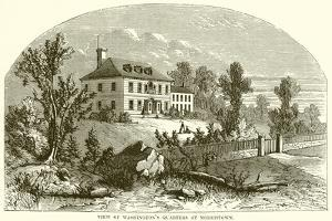 View of Washington's Quarters at Morristown