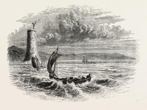 View on Lake Ontario, North America, USA, 1870s