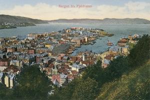 View over Bergen, Norway