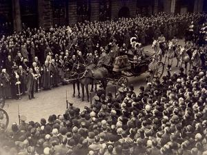 View Showing Part of the Jubilee Procession of King George V and Queen Mary, May 6 1935