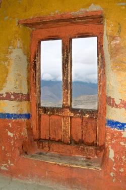 View Through the Monastery Window, Likir Monastery, Ladakh, India