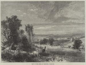 View Up the River at Asuncion, Paraguay