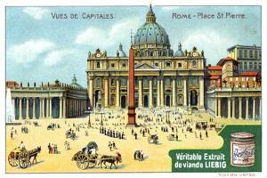Views of Capitals: St Peter's Square, Rome, C1900