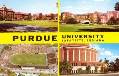 Views of Purdue University, Lafayette, Indiana