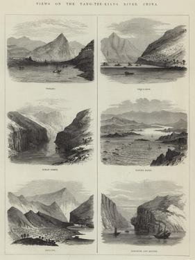 Views on the Yang-Tze-Kiang River, China
