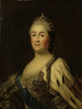 Empress Catherine II Alexeevna (1762-1796) by Vigilius Erichsen