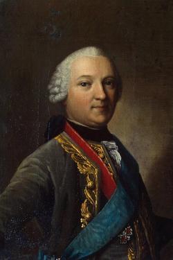 Portrait of Caspar Von Saldern, (1711-178), Middle of the 18th Century by Vigilius Erichsen