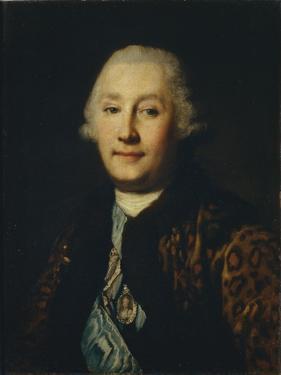 Portrait of Count Grigory Grigoryevich Orlov (1734-178) by Vigilius Erichsen