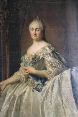Portrait of the Empress Catherine the Great, after 1762 by Vigilius Erichsen