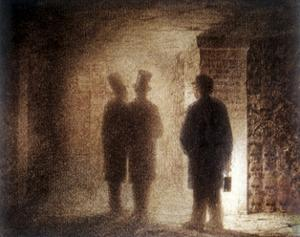 """Paris Catacombs, One of the """"Pictures at an Exhibition"""" by Viktor Aleksandrovich Gartman"""