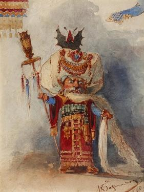 Chernomor. Costume Design for the Opera Ruslan and Lyudmila by M. Glinka by Viktor Alexandrovich Hartmann