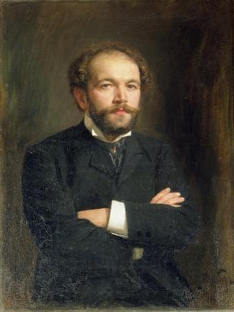 Portrait of Nikolai Karlovich Medtner