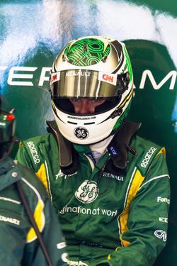 Team Catherham F1, Heikki Kovalainen, 2012 by viledevil