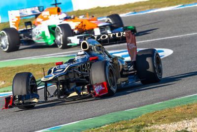 Team Lotus Renault and Force India 2012 by viledevil