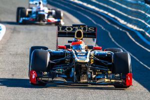 Team Lotus Renault F1, Romain Grosjean, 2012 by viledevil