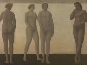 Artemis, 1893-1894 by Vilhelm Hammershoi