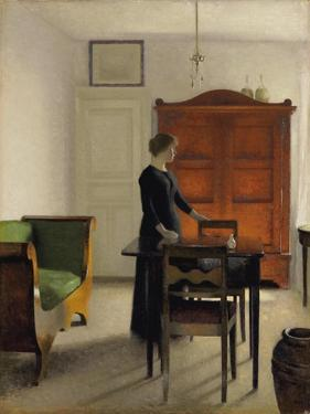 Ida in an Interior, 1897 by Vilhelm Hammershoi