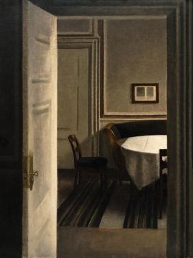 Interior, Strandgade 30, 1904 by Vilhelm Hammershoi