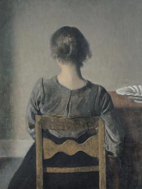 Rest by Vilhelm Hammershoi