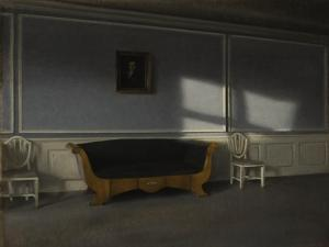 Sunshine in the Drawing Room III, c.1905 by Vilhelm Hammershoi