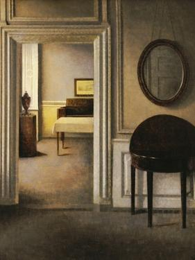 The Music Room, 30 Strandgade, circa 1907 by Vilhelm Hammershoi