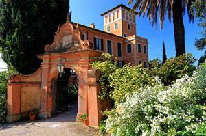 Villa Hanbury at Hanbury Botanic Gardens near Ventimiglia, Province of Imperia, Liguria, Italy