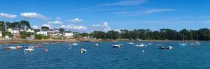 Village of Larmor-Baden, Gulf of Morbihan, Morbihan, Brittany, France