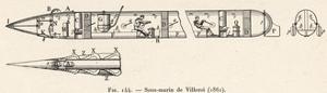 Villeroi Submarine 1861