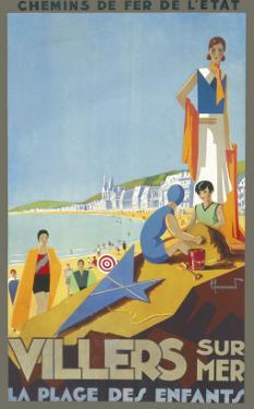 Villers-Sur-Mer Poster