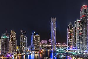 Dubai Marina by Vinaya Mohan