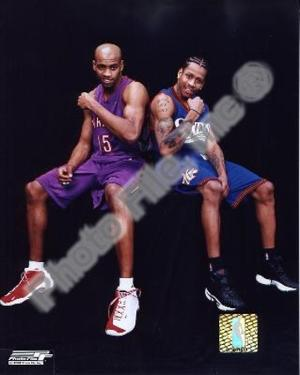 Vince Carter, Allen Iverson Photo