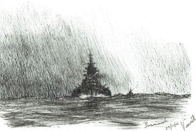 Bismarck heads out, 2006 by Vincent Alexander Booth
