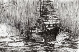 Bismarck, Off Greenland, 2005 by Vincent Alexander Booth