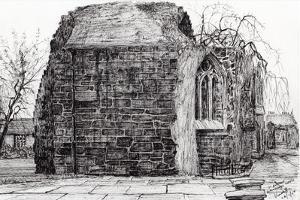 Blackfrierschapel, St. Andrews, 2007 by Vincent Alexander Booth