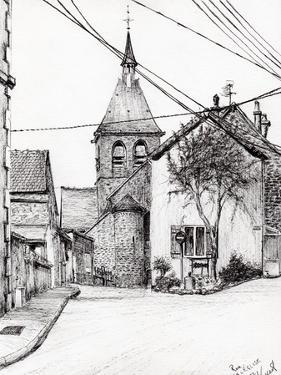 Church in Laignes, France, 2007 by Vincent Alexander Booth