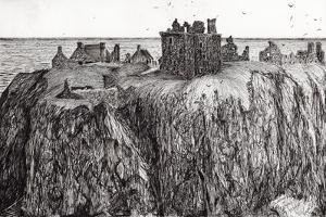 Dunottar Castle, 2007 by Vincent Alexander Booth