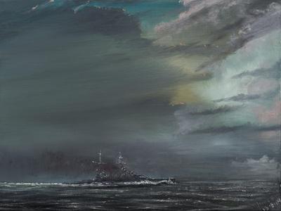 HMS Hood 1941