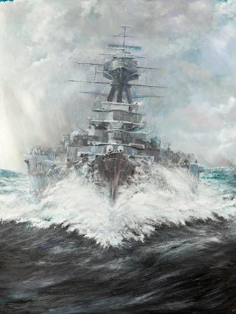 Hms Hood (2), 2016 by Vincent Alexander Booth