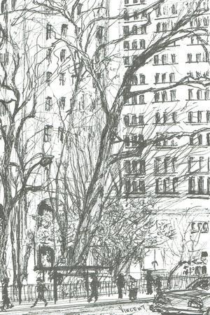Madison Square park New York, 2003