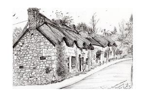Post Office and Museum, Brighstone, 2008 by Vincent Alexander Booth