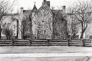 Queen Mary's house Jedburgh, 2006 by Vincent Alexander Booth